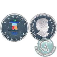 2010 Canada Silver Inukshuk Dollar Proof_ $