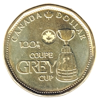 2012 Canada Grey Cup Loon Dollar Brilliant Uncirculated (MS-63)