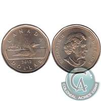 2012 Canada Loon (Old Generation) Dollar Brilliant UNC. (MS-63)