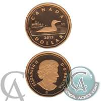 2013 Canada Loon Dollar Silver Proof