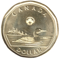 2014 Canada Loon Dollar Brilliant Uncirculated (MS-63)