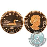 2014 Canada Loon Dollar Silver Proof