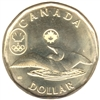 2014 Canada Olympic Loon (Lucky) Dollar Brilliant Uncirculated (MS-63)