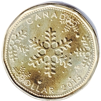 2015 Christmas Canada Dollar Brilliant Uncirculated (MS-63)