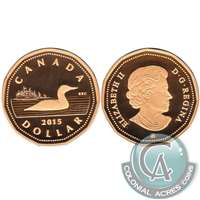 2015 Canada Loon Dollar Silver Proof
