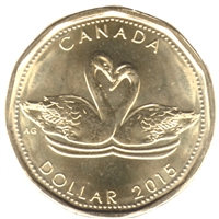 2015 Canada Wedding Dollar Brilliant Uncirculated (MS-63)