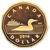 2016 Canada Loon Dollar Silver Proof