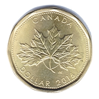 2016 Oh Canada Dollar Brilliant Uncirculated (MS-63)