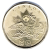 2016 Canada Olympic Loon (Lucky) Dollar Brilliant Uncirculated (MS-63)