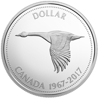 1967-2017 Canada Dollar Centennial Silver Proof (No Tax) $