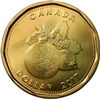 2017 Christmas Canada Dollar Brilliant Uncirculated (MS-63)