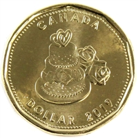2019 Wedding Canada Dollar Brilliant Uncirculated (MS-63)
