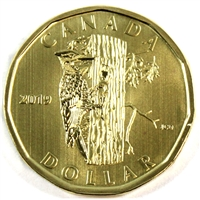 2019 Canada Woodpecker Dollar Specimen