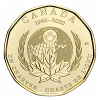 2020 United Nations Canada Loon Dollar Brilliant Uncirculated (MS-63)