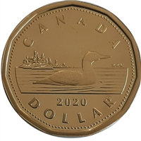 2020 Canada Loon Dollar Proof (non-silver)