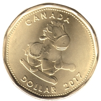 2017 Baby Canada Dollar Brilliant Uncirculated (MS-63)