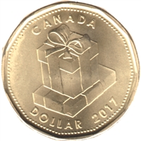 2017 Birthday Canada Dollar Brilliant Uncirculated (MS-63)