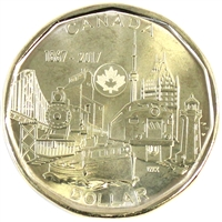 2017 Connecting a Nation Canada Dollar Brilliant Uncirculated (MS-63)