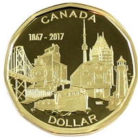 2017 Connecting Canada Dollar Proof (Non-Silver)