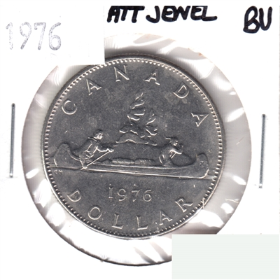 1976 Attached Jewel Canada Nickel Dollar Brilliant Uncirculated (MS-63)