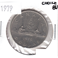 1979 Canada Nickel Dollar Choice BU (MS-64)