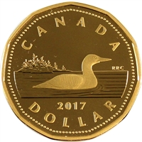 2017 Loon Canada Dollar Silver Proof