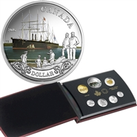 2016 Canada Transatlantic Cable SE Silver Dollar Proof Set