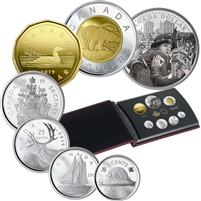2019 Canada Special Edition 75th Anniversary of D-Day Silver Dollar Proof Set