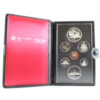 1981 Canada Trans-Canada Railway Centennial Proof Double Dollar Set