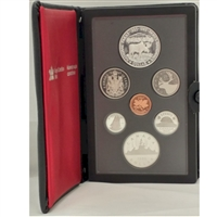 1985 Canada's National Parks Centennial Proof Double Dollar Set