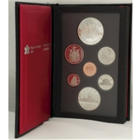 1987 Canada Davis' North West Passage Anniversary Proof Double Dollar Set