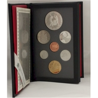 1988 Canada Saint-Maurice Ironworks Proof Double Dollar Set