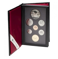 1989 Canada Alexander MacKenzie Proof Double Dollar Set