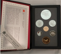 1992 Canada Kingston-York Stage Coach Service Proof Double Dollar Set