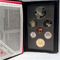 1995 Canada Hudson's Bay Company Anniversary Proof Double Dollar Set