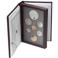 1995 Canada Limited Edition Proof Double Dollar Set (Red Cover)