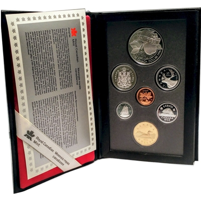1996 Canada Anniversary of McIntosh's Arrival Proof Double Dollar Set