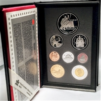 1997 Canada 1972 Canada/Russia Hockey Summit Proof Double Dollar Set