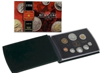 1998 Canada Royal Canadian Mounted Police Proof Double Dollar Set
