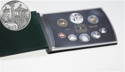 2002 Canada Queen's Jubilee Regular Proof Double Dollar Set