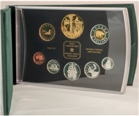 2002 Canada Gold Plated Jubilee Proof Double Dollar Set