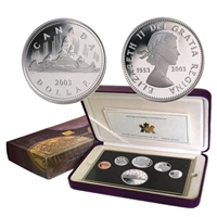 2003 Canada Coronation Proof Set (1953-2003).