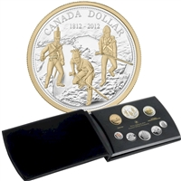 2012 Canada War of 1812 Fine Silver Deluxe Proof Set (TAX Exempt)