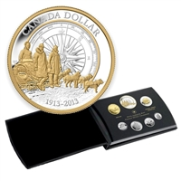 2013 Canada Arctic Expedition Fine Silver Double Dollar Proof Set (No Tax)