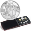 2014 Canada 100th Anniversary of WWI Silver Dollar Proof Set