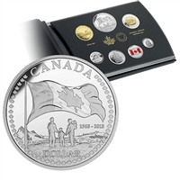 2015 Canada 50th Ann of the Canadian Flag Special Edition Proof Set