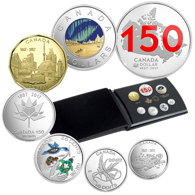 2017 Canada Our Home & Native Land Ltd Ed Silver Dollar Proof Set