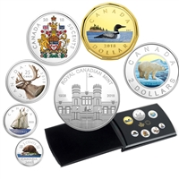 2018 Canadian Fine Silver Proof 6-coin Set with Medallion (No Tax)