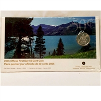 2005 Canada 50-Cent First Day Cover