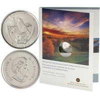 2005 Canada Saskatchewan 25-Cent First Day Cover.